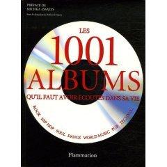 La couverture du livre sur 50 ans d'albums pop
