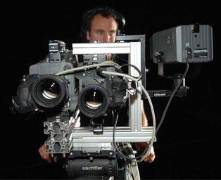Un modèle de caméra stéréoscopique