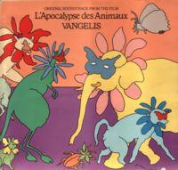 Une pochette aternative de 'l'Apocalypse des Animaux', en 1973.