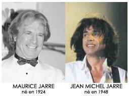 Maurice et Jean Michel Jarre