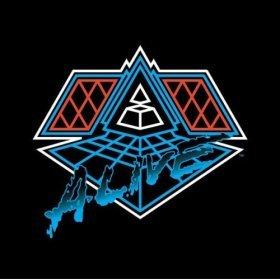 Pochette de daft Punk, Alive 2007, live à Bercy