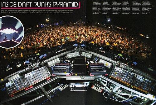 L'envers du décor : la pyramide de Daft Punk vue de l'intérieur