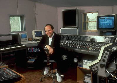Jan Hammer en studio