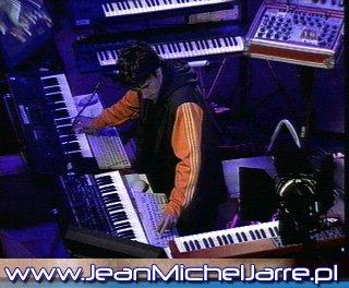 Jarre à la nuit électronique de 1998