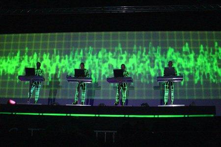 Kraftwerk tournée 2004