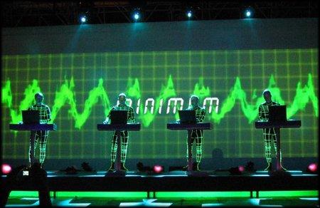 Kraftwerk en concert