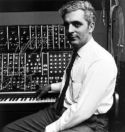 Robert Moog au sein de sa première société