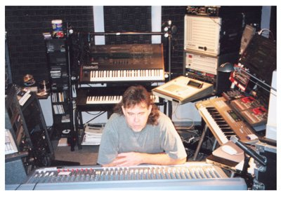 Steve Roach en studio