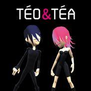 Téo et Téa, les personnages au coeur de l'album éponyme de Jean Michel Jarre (2007)