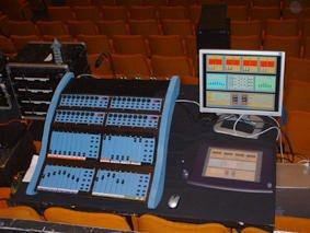 Console de commande du cybernéphone de l'IMEB