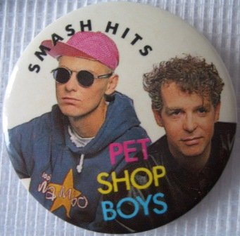 Pet Shop Boys, le badge !