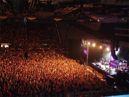 CEZ Arena en configuration concert