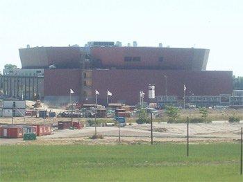La Malmo Arena, lieu de passage de la tournée In-doors de Jean Michel Jarre