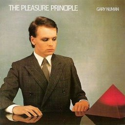 Pochette de ''The Pleasure Principle'' de Gary Numan