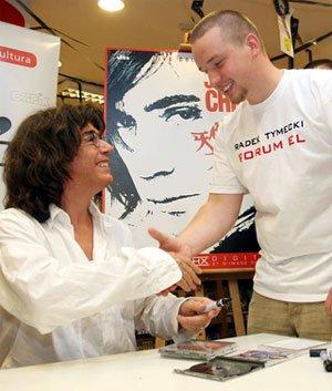 Une rencontre entre le polonais Radek Tymecki et Jean Michel Jarre.