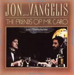 Pochette de la deuxième version de The Friends of Mr. Cairo de Jon and Vangelis