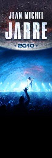Jean Michel Jarre en tournée dans le monde entier avec