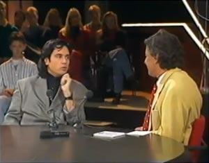 Jean Michel Jarre à la tv hollandaise en 1991