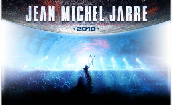 Visuel de la tournée mondiale de Jean Michel Jarre en 2010
