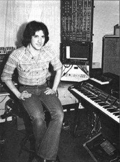 Larry Fast au milieu des années soixante-dix.