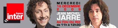 Jarre invité du Fou du Roi le 16-12-2009