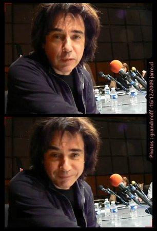 Photo extraite d'une séquence vidéo tournée par un fan chilien sur le plateau du Fou du Roi en décembre 2009