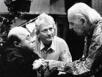 Michel Petruciani, Francis Dreyfus et Stéphane Grappelli