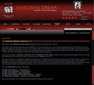 Tangerine dream : la fin d'une époque dans Concerts / Tangerine Dream image-300x273