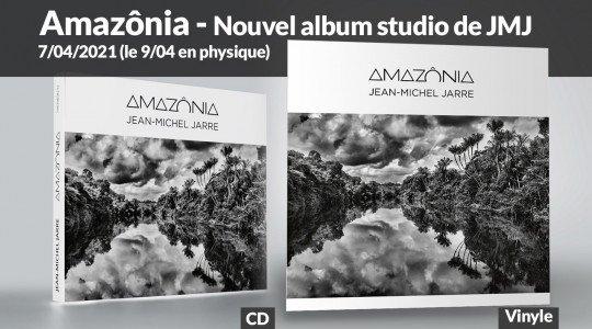 Amazônia, nouvel album studio de Jean-Michel Jarre sort le 7 avril 2021